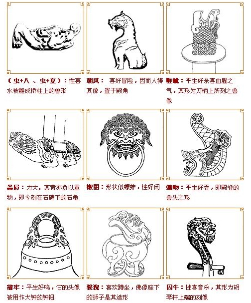 龙生九子(图)